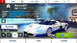 Maserati MC12 base stats
