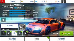 A8A Audi R8 LMS Ultra stock + price