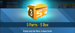 Box Parts S class