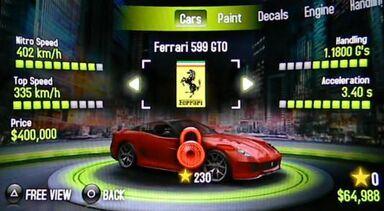 AI 599 GTO