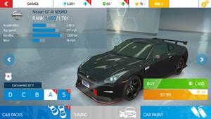 AN Nissan GT-R NISMO stock