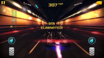 Asphalt 8 Elimination gameplay