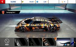 Koenigsegg One-1 Decal 3