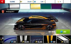 Koenigsegg One-1 Decal 8