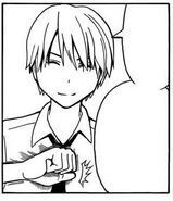 Asano gentle smile