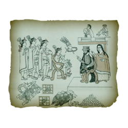AC4BF Cortez and La Malinche from the History of Tlaxcala