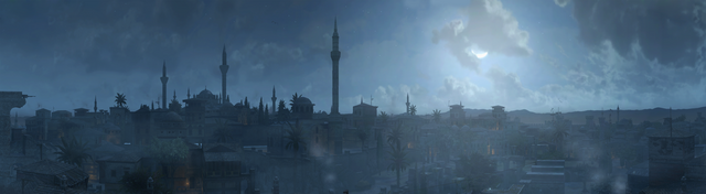 File:Constantinople at night - Panoramic.png