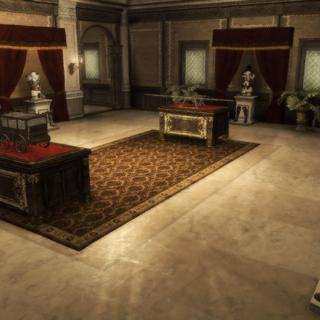 奥迪托雷别墅里的护甲室