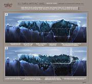 ACRG Arctic Temple Artifact Activate - Concept Art