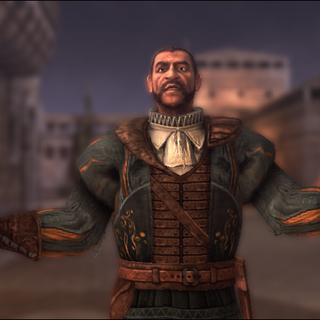 Bartolomeo verwelkomt Ezio.