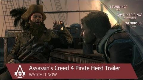 Pirate Heist Trailer Assassin's Creed IV Black Flag North America