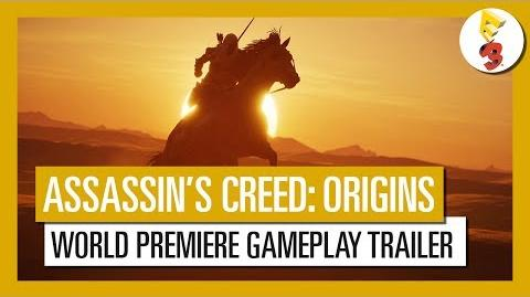 Assassin's Creed Origins E3 2017 World Premiere Gameplay Trailer