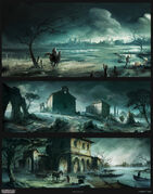Assassin's Creed 2 Concept Art By Desmettre Page01