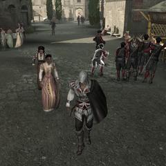 Ezio en zijn <a href=