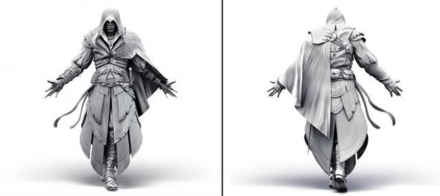 File:Ezio armor texture model by Michel Thibault.png