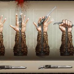 康纳袖剑的概念图