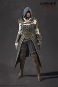 ACS Evie Frye Steampunk Model - Front View