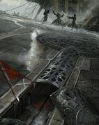 Ezio fighting ACR