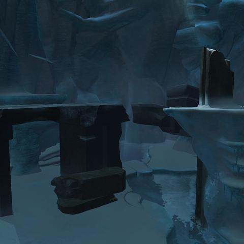 通往神殿的洞穴