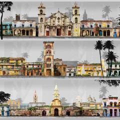 Various landmarks