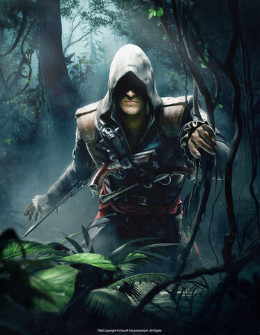 File:AC4BF Edward Kenway in Jungle.jpg