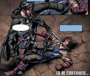 Hiram threatening Giovanni