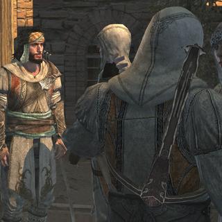 Yusuf en zijn mannen bij het hoofdkwartier