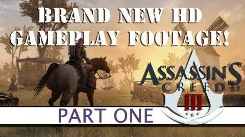 Assassins Creed 3 BRAND NEW GAMEPLAY - Part One - Platform32