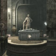 Het graf van Darius.