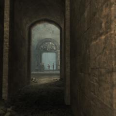 Ezio bekijkt de <a href=