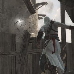 Altaïr snijd de touwen door.
