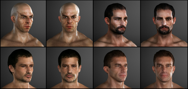 File:Thief NPCs face models by Michel Thibault.png