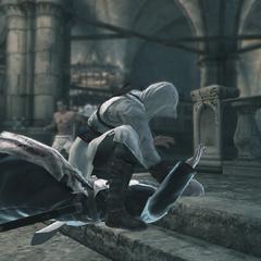 Altaïr vermoordt Garnier.