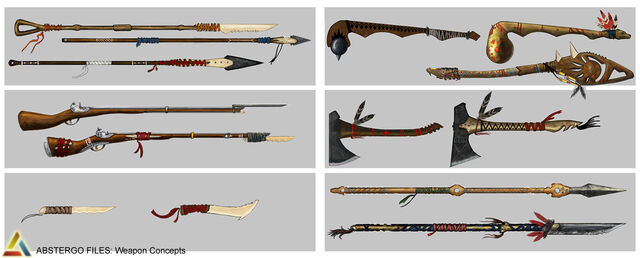 File:Assassin's Creed 3 Multiplayer Weapon Design 01 by trebor7.jpg