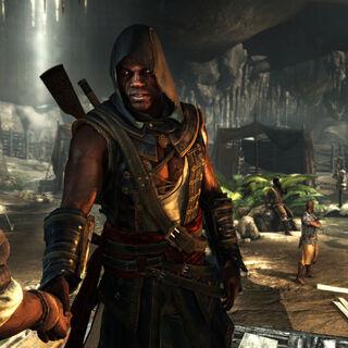 阿德瓦莱在洞穴中