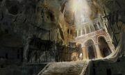 Cappadocia stone carved church