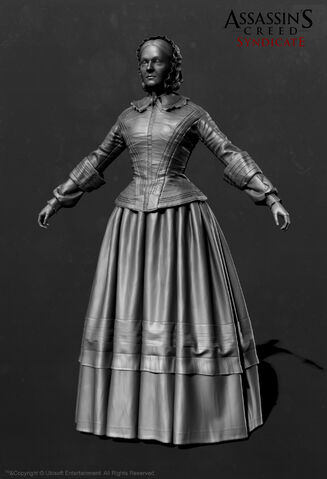 File:ACS Florence Nightingale ZBrush Model - Front View.jpg