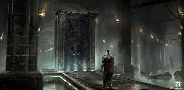 File:Door to Masyaf Library Concept.JPG