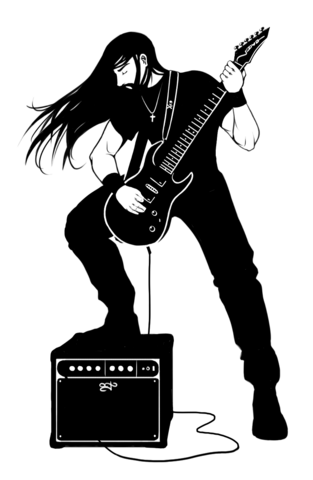 File:Black And White Metalhead by Vandoudy.png