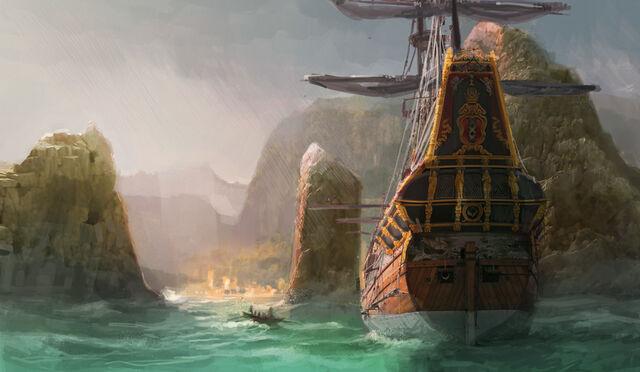 File:AC3 Going Ashore - Concept Art.jpg