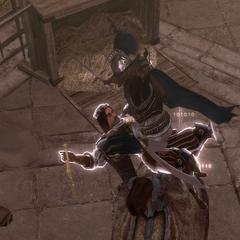 Ezio vermoordt de baron.