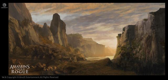 File:ACRG River Valley Sunset - Concept Art.jpg