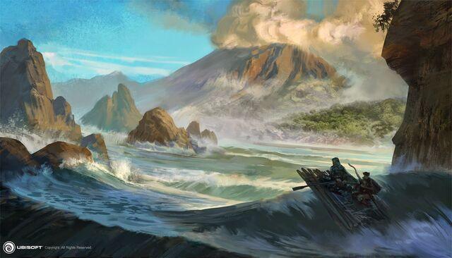 File:AC4BF Volcano Island - Concept Art.jpg