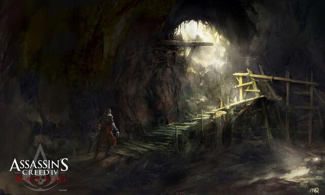 File:Assassin's Creed IV Black Flag SmugglerCave-StJuan by max qin.jpg