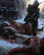 Aftermath of a fight by Gilles Beloeil