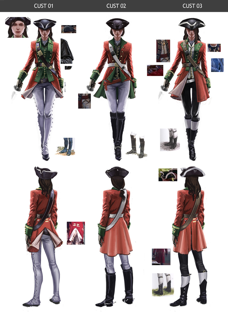 Image - The Red coat - customs by Sifflet.jpg | Assassin's Creed ...