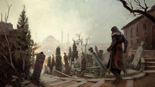 File:Backstreets of Constantinople by Gilles Beloeil.jpg
