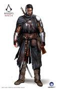ACRG Shay Sir Gunn's Armor - Concept Art