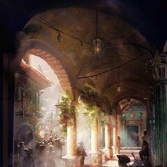 An alcove in Havana