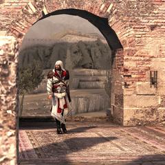 Ezio gaat de <a href=